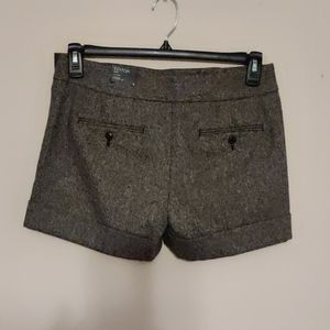 Express Low Rise Editor Shorts NWT